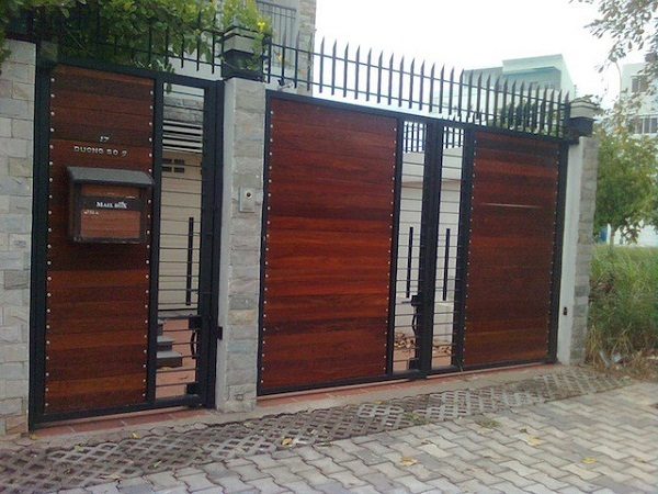 Hướng dẫn cách sơn cửa sắt giả gỗ