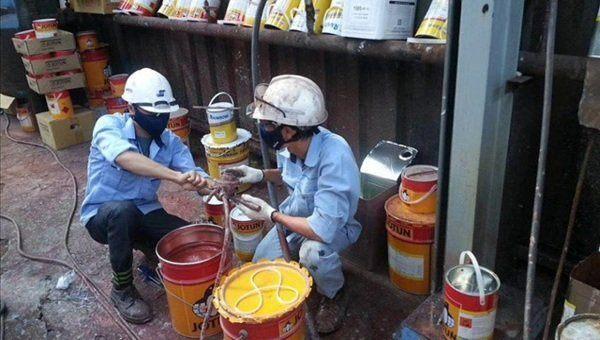 Hướng dẫn pha chế sơn cửa sắt chống rỉ sét