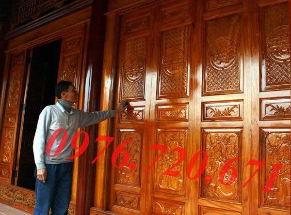 Sơn cửa gỗ ở Quốc Oai, Hà Nội