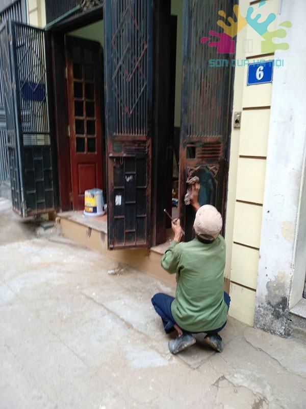 Sơn cửa sắt giá rẻ tại Hà NộiSơn cửa sắt giá rẻ tại Hà Nội