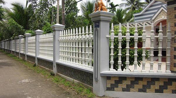 Sơn cửa sắt màu trắng giá rẻ tại Hà Nội