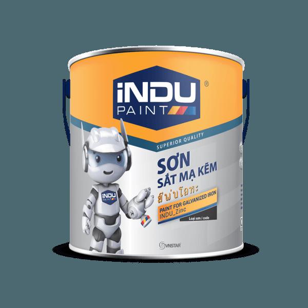 Sơn sắt mạ kẽm Indu paint