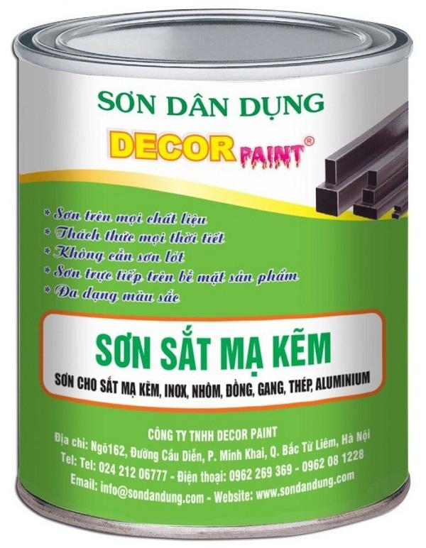 Sơn mạ kẽm lạnh Decor paint