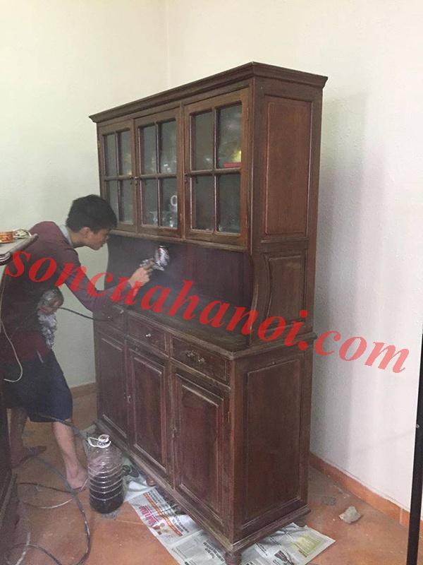Sơn tủ gỗ tại Mỹ Đình, Nam Từ Liêm, Hà Nội