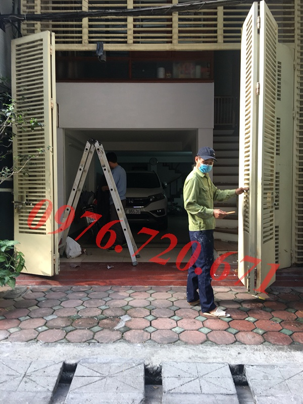Sơn cửa sắt tại Hà Nội chuyên nghiệp, giá rẻ