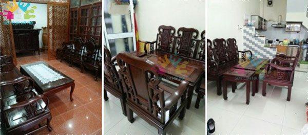 Đánh vecni bàn ghế gỗ giá rẻ tại Hà Nội