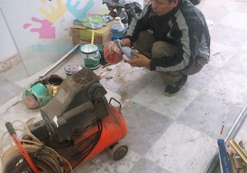 Sơn PU giá rẻ tại Hà Nội