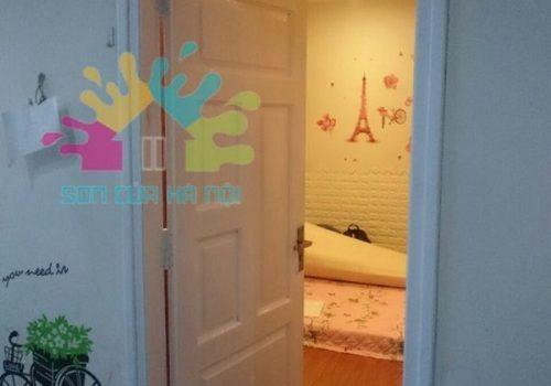 Hướng dẫn các bước sơn đồ gỗ màu trắng bền đẹp tại nhà