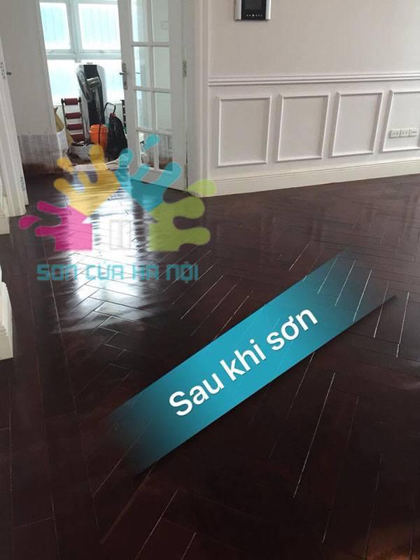 Sơn sàn gỗ giá rẻ tại Hà Nội