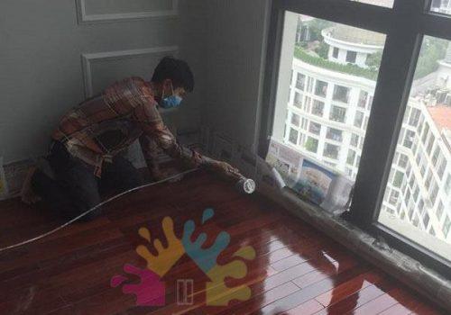 Dịch vụ sơn sàn gỗ giá rẻ