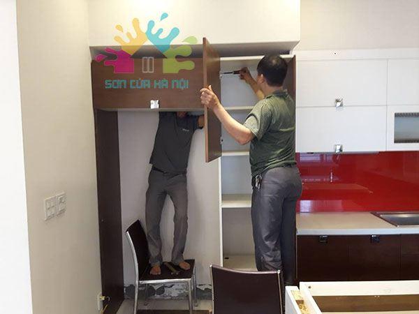 Thợ sửa chữa đồ gỗ tại nhà Hà Nội