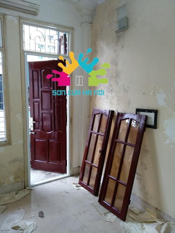Thợ sơn cửa gỗ giá rẻ tại Vũ Trọng Phụng, Thanh Xuân, Hà Nội