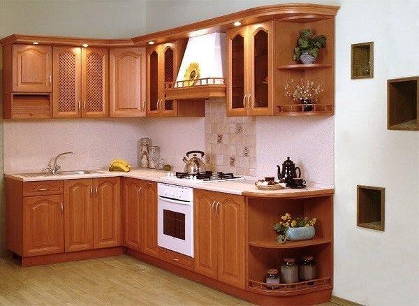 Tủ bếp gỗ xoan chống mối mọt
