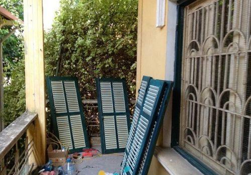 Nhận sơn lại cửa gỗ, đồ gỗ đẹp đón TẾT giá rẻ tại nhà