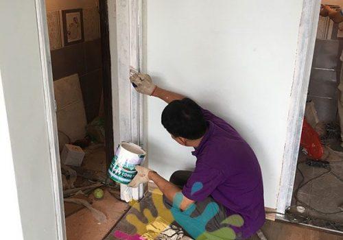 Thợ nhận sơn cửa gỗ, sàn gỗ chung cư chuyên nghiệp số 1 tại Hà Nội