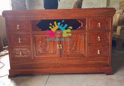 Thợ nhận sơn kệ, tủ tivi giá rẻ tại Hà Nội
