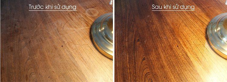 Đánh bóng đồ gỗ bằng nước trà