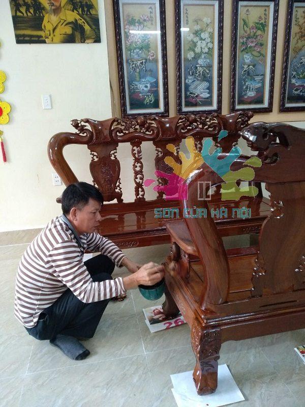 Thợ đánh vecni bàn ghế giá rẻ tại Hoàng Mai, Hà Nội