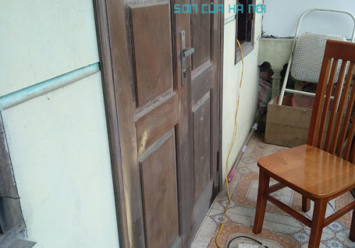 Thợ sơn cửa gỗ giá rẻ tại Hoàng Mai, Hà Nội