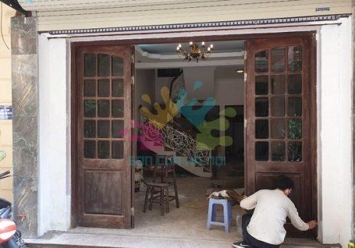 Dịch vụ sơn đồ gỗ, cửa gỗ giá rẻ tại Thành Công, quận Ba Đình, Hà Nội